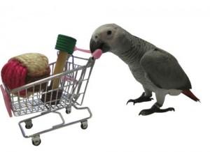 Bird-Parrot-Toy-Supermarket-Shopping-Cart-Intelligence-Growth
