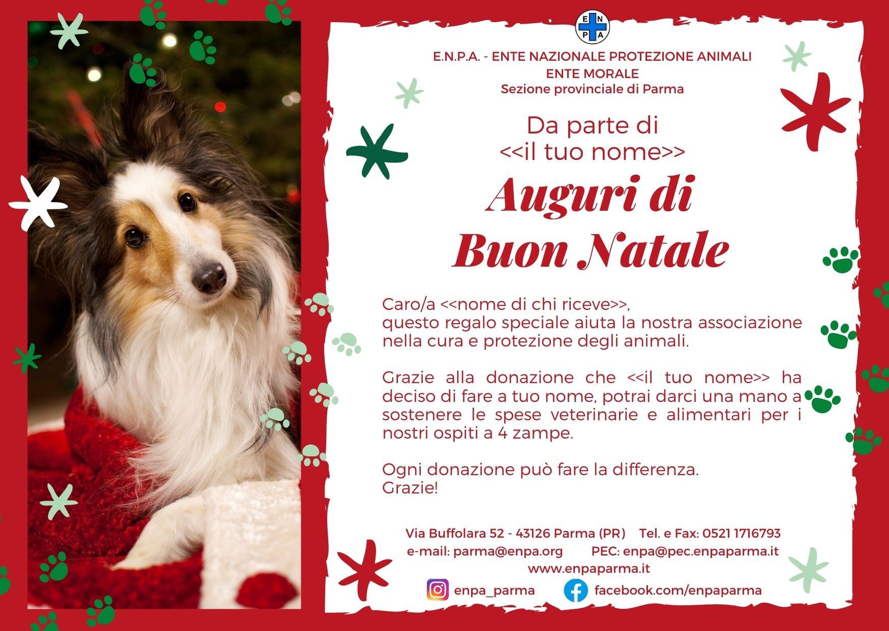 Natale Con ENPA (cane - 5€)