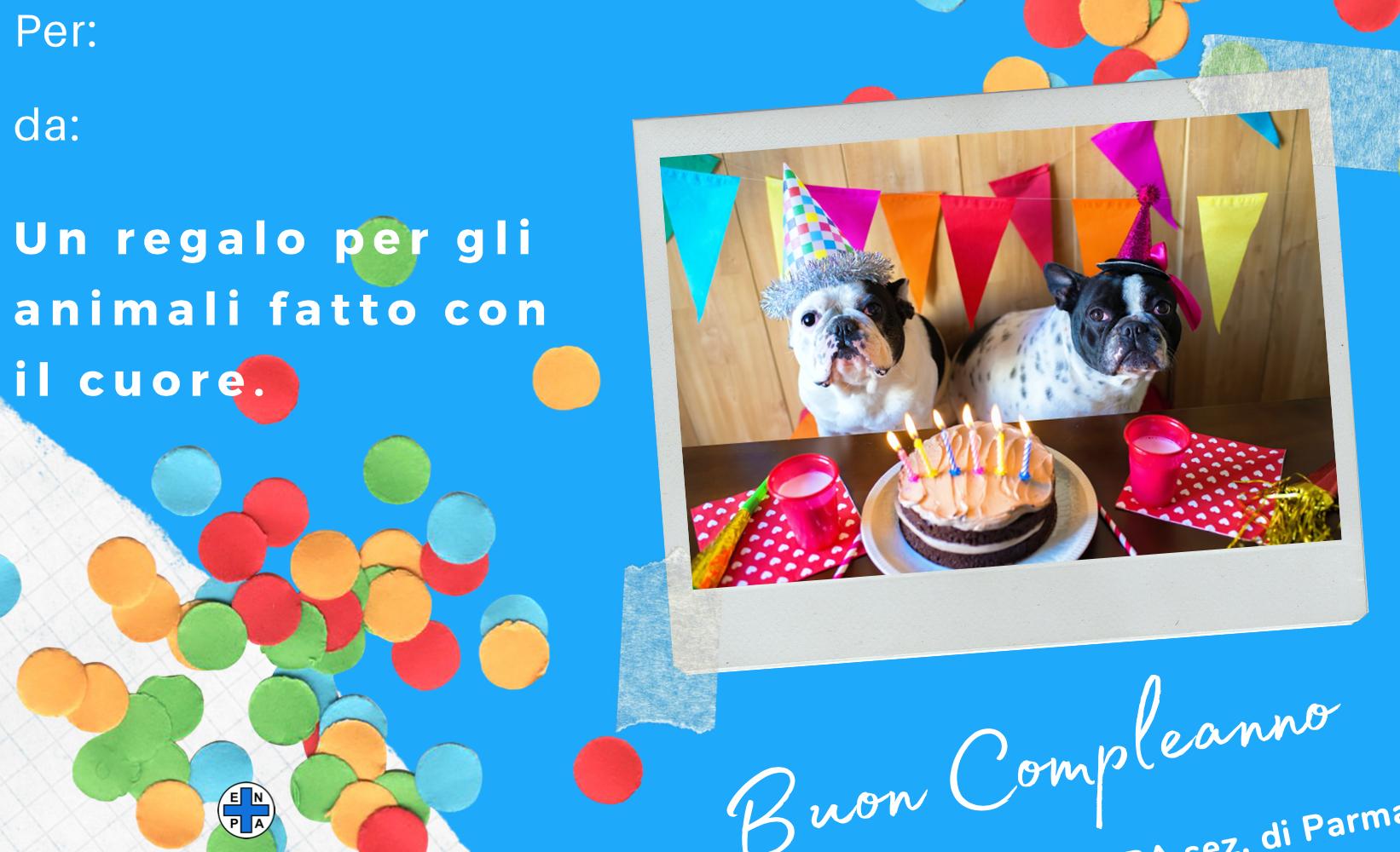 Bigliettini Compleanno ENPA (cane - 5€)
